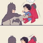 小超人和蝙蝠侠的故事