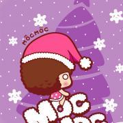 超可爱摩丝摩丝圣诞手机壁纸