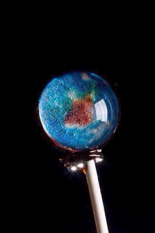 美食,另类图片:星空棒棒糖:就真的好像地球不得不爱!