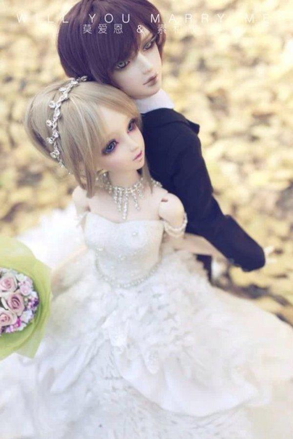 sd娃娃,可爱,心形,另类图片:如果可以我想一辈子都不放开你的手