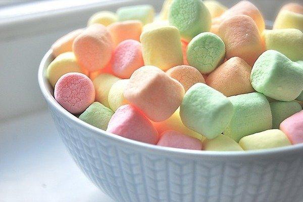 可爱,美食,心形,另类图片:我的梦想就是睡在棉花糖小屋里.