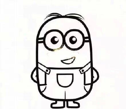 创意,可爱,另类图片:教大家画小黄人 快快学起来