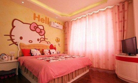 可爱,卧室,另类图片:哈喽凯蒂