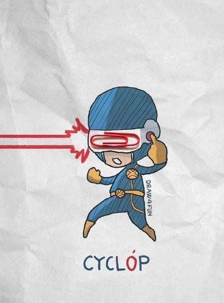 搞笑,可爱,创意,另类图片:萌宝超级英雄