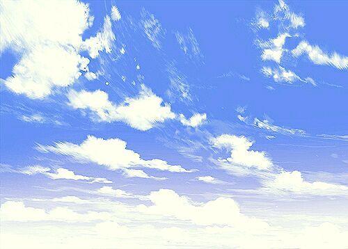 二次元,另类图片:二次元天空.