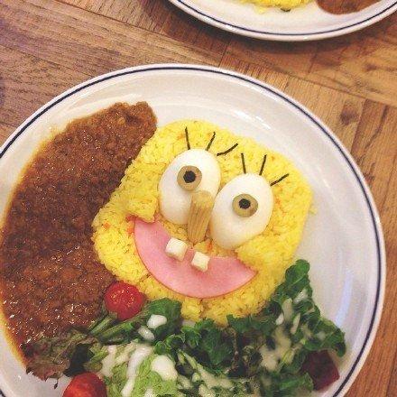 创意,可爱,美食,另类图片:美食第五波:海绵宝宝主题餐厅