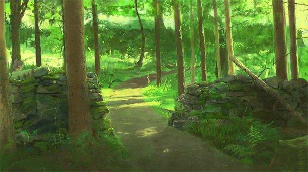 二次元森林高清照片分享展示