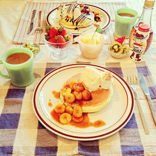 美食,另类图片:明早的早餐-可爱图片-七七空间