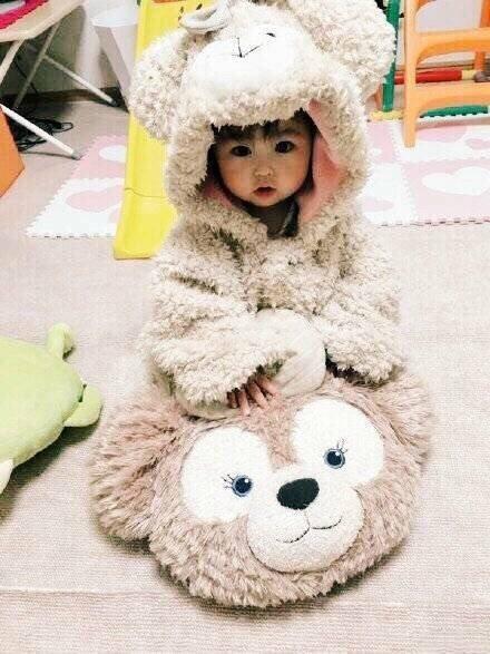 动态,可爱,另类图片:duffy熊宝宝连体衣