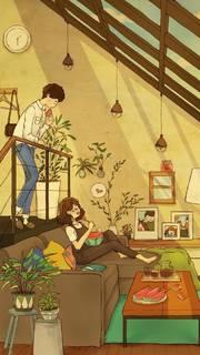 手绘,原创,幸福,另类图片:流年碎jion【从不后悔】