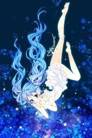 卡通,插画,耽美,另类图片:蓝色梦